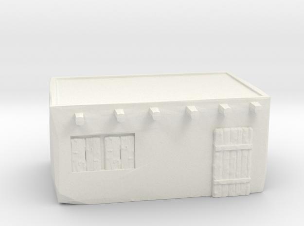 Default house in White Natural Versatile Plastic