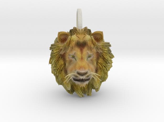 Lion in Full Color Sandstone