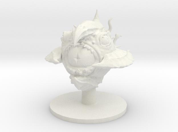 MindHolder (large aberration)  in White Natural Versatile Plastic