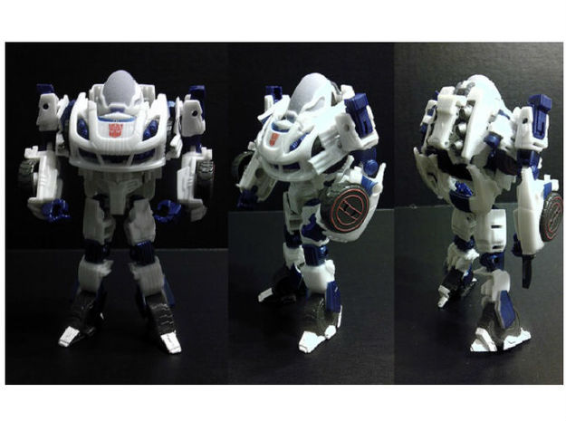 Exosuit Dome For TF FOC JAZZ in Full Color Sandstone