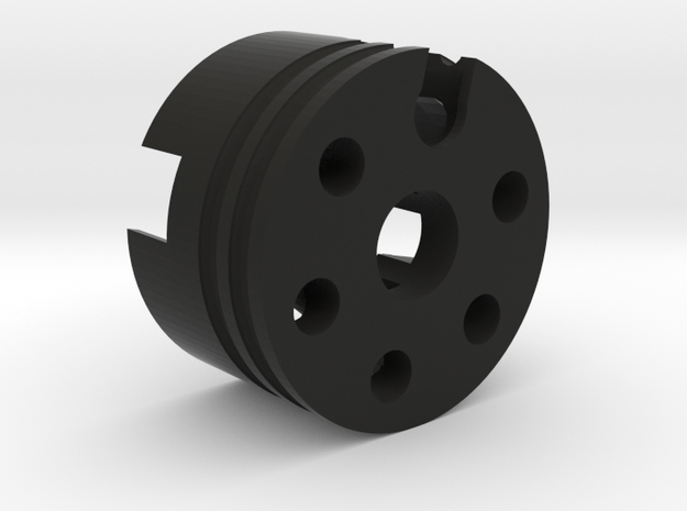 SF-Cerberus-A2 in Black Natural Versatile Plastic