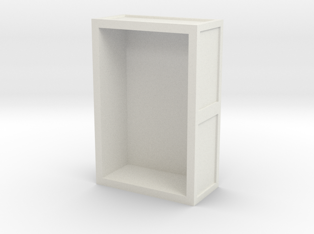 O-16.5 Talyllyn inspired water tank in White Natural Versatile Plastic