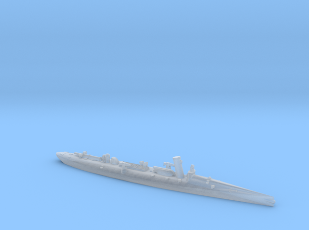 SMS Elster 1/1200 (without mast) in Smooth Fine Detail Plastic