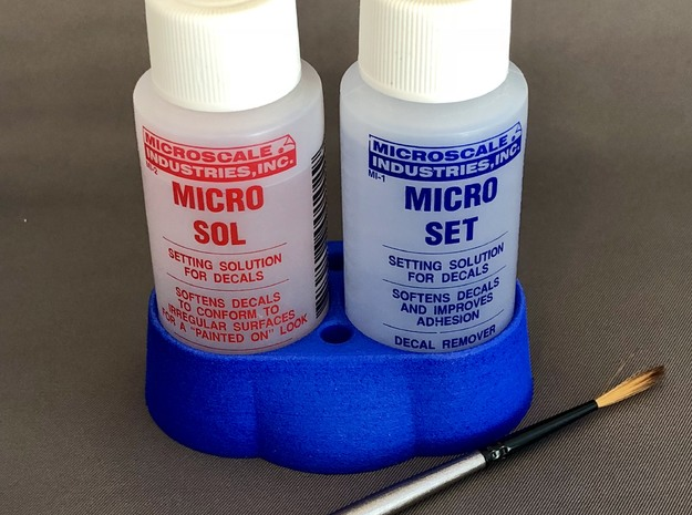MicroScale Decal Setting Solution Station in White Processed Versatile Plastic