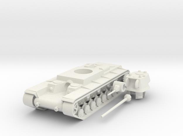 1/100 KV-4 (Shashmurin Variant) in White Natural Versatile Plastic