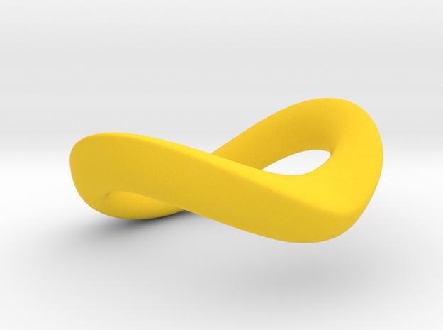 JNada CRing 35mm - 1.38INCH in Yellow Processed Versatile Plastic