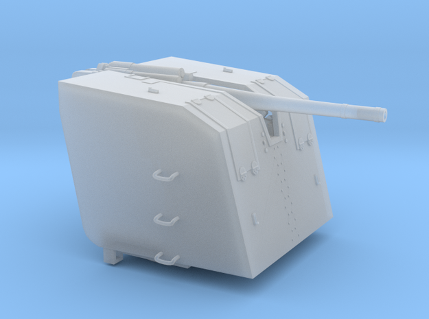 1/72 8.8cm SK C/30 Naval Gun w/ Detachable Shield in Smooth Fine Detail Plastic