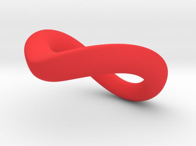 JNada CRing 45mm in Red Processed Versatile Plastic