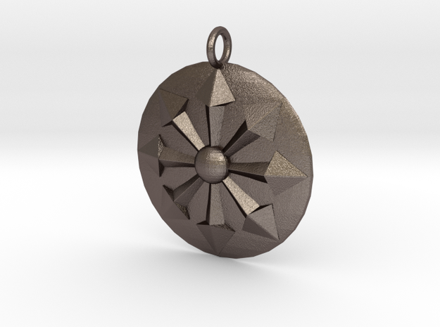 balance in Polished Bronzed Silver Steel