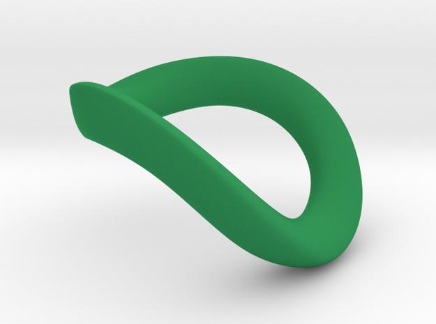 JNada CRing 50mm - 1.97INCH in Green Processed Versatile Plastic