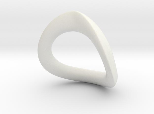 JNada CRing 52.5MM - 2.07INCH in White Premium Versatile Plastic