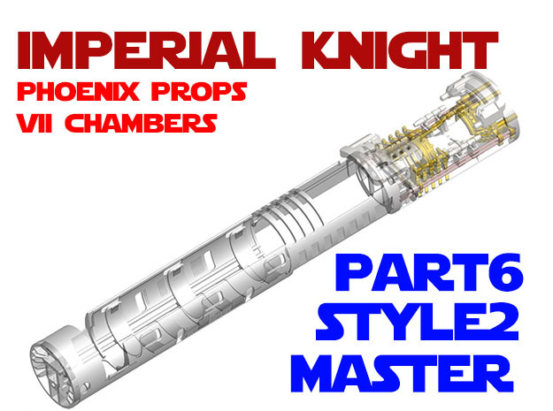 Imperial Knight - Master Part6 Style2 in Smooth Fine Detail Plastic