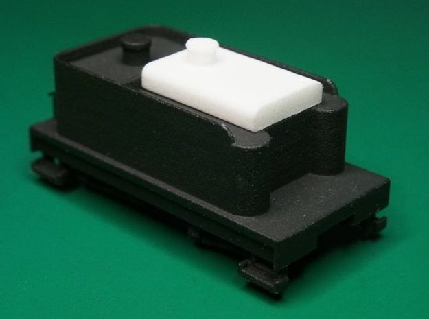 Small Oil Tank for F&C Tender , HOn30 3d printed