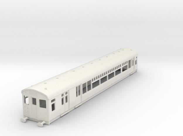 O-87-lner-single-lugg-3rd-motor-coach in White Natural Versatile Plastic