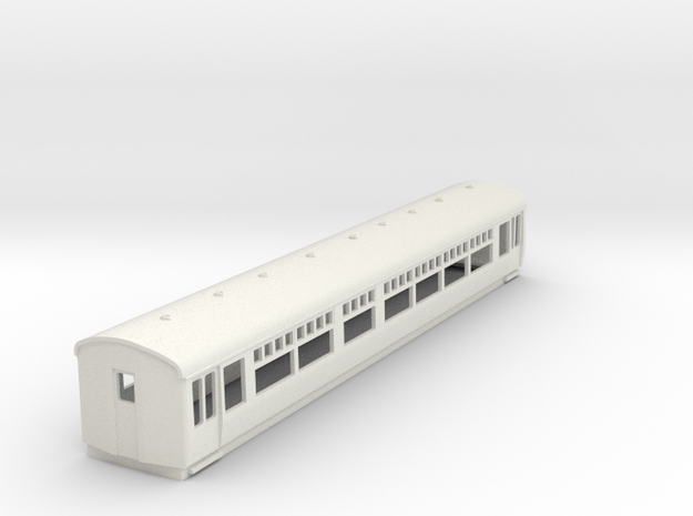 o-100-lner-trailer-1st-coach in White Natural Versatile Plastic