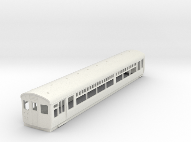 o-76-lner-driver-3rd-coach in White Natural Versatile Plastic