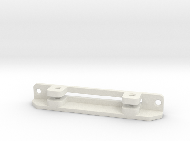1:7.6 Ecureuil AS 350 / Landingframe Part 07 in White Natural Versatile Plastic
