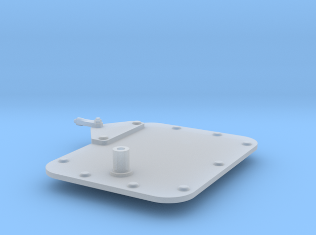 1:7.6 Ecureuil AS350 / mirror 04 in Smooth Fine Detail Plastic