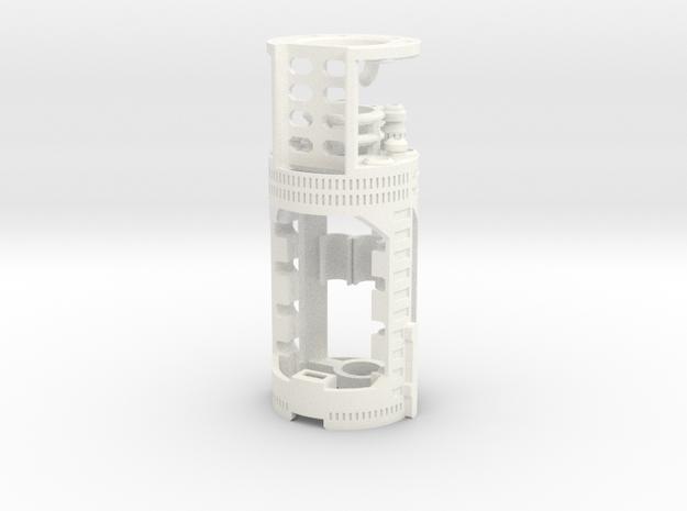 Graflex2.0 Part 2/4 - BoardChamber Prizm V5.1 in White Processed Versatile Plastic