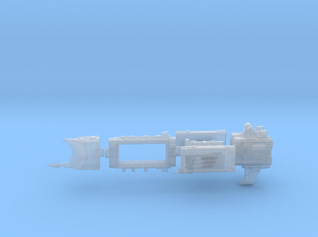 Vega Class Light Cruiser [modular] in Smoothest Fine Detail Plastic