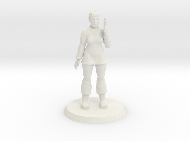 Space Officer 2 in White Natural Versatile Plastic