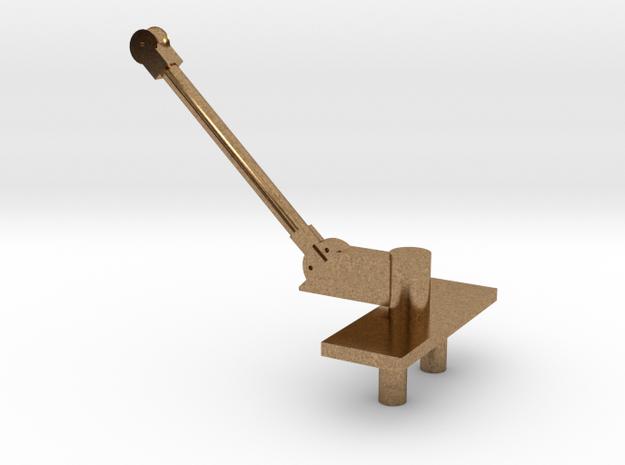 PB&SSR Single Pole Pantograph in Natural Brass