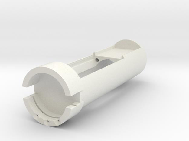 MK1 Upper in White Natural Versatile Plastic