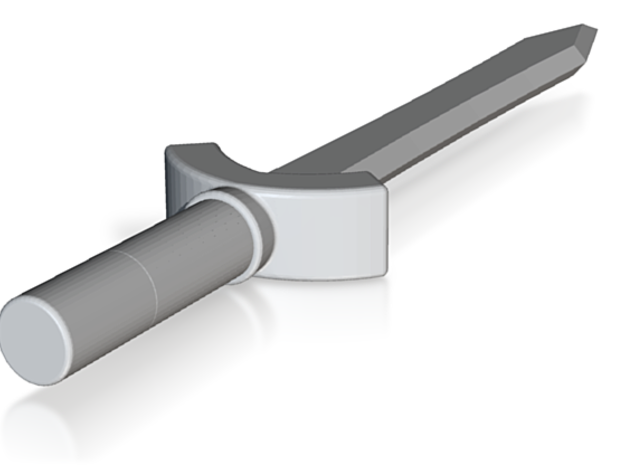 the Scorning blade (#97) in White Natural Versatile Plastic