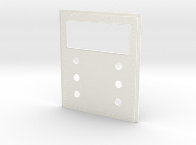 King Hauler Daycab Panel, Lg Window, 2x3 5mm in White Processed Versatile Plastic