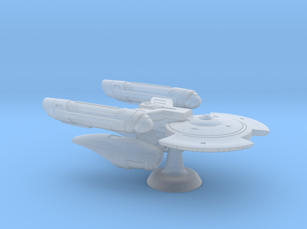 Terran Chang'e Heavy Frigate - 1:7000 in Smooth Fine Detail Plastic