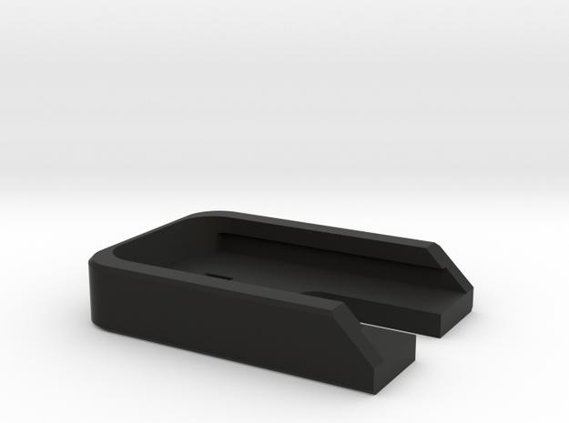 Deranged FPG/ATP baseplate in Black Natural Versatile Plastic