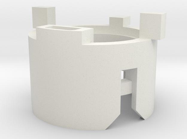 89sabers Sidious - Part (3/4) SpeakerHolder in White Natural Versatile Plastic