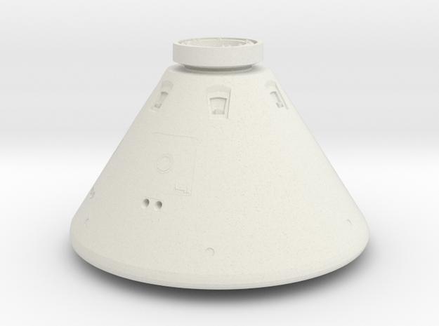 Orion Space Capsule in White Natural Versatile Plastic