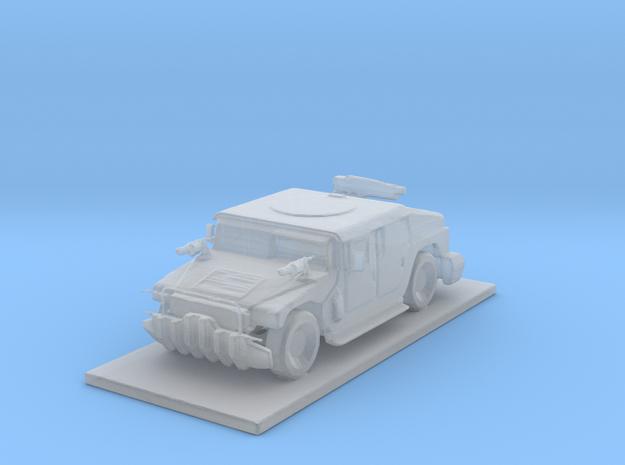 Humvee Truck in Smooth Fine Detail Plastic