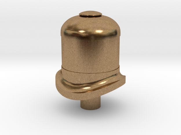 HO Davenport small dome in Natural Brass