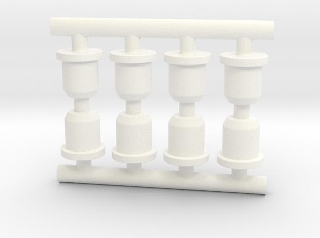 Adapter: Cross Slim to Uni Signo UMR-85 in White Processed Versatile Plastic