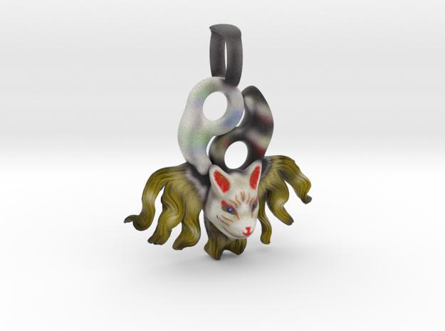 Kyuubi Key Holder in Full Color Sandstone