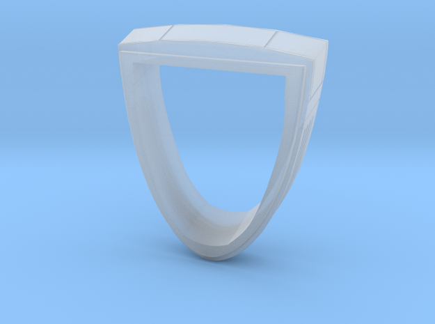Ingram Neck #2 in Smooth Fine Detail Plastic