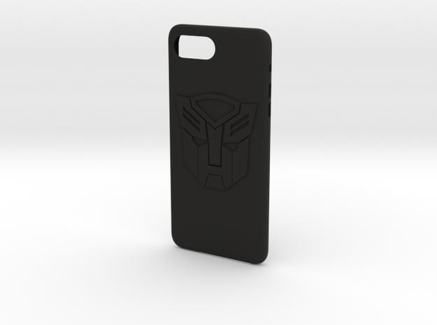 cases tranformen iphone 7 plus  in Black Natural Versatile Plastic: Medium