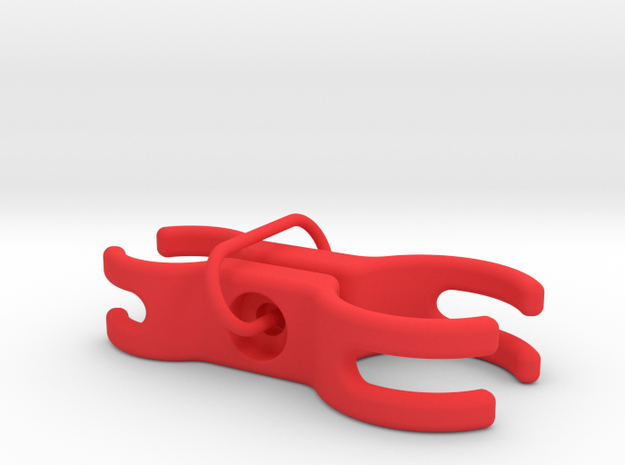 Exposure Blaze 25.4 Seat Post Mount in Red Processed Versatile Plastic