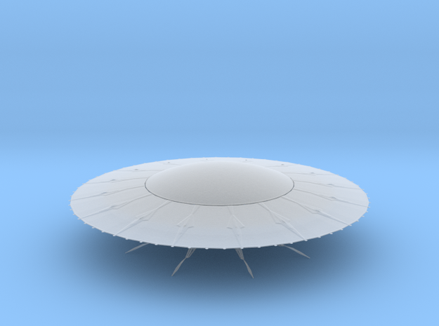 UFO10 in Smooth Fine Detail Plastic