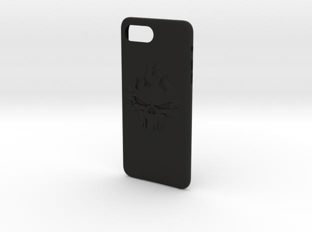 cases iphone 7 plus ghost rider theme in Black Premium Versatile Plastic