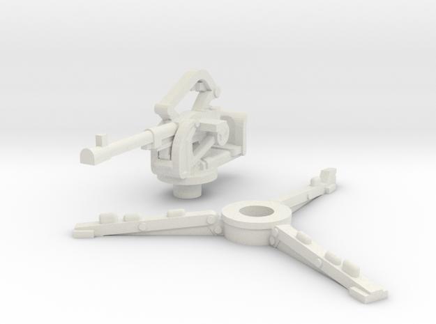 breda 20mm (open) scale 1/87 in White Natural Versatile Plastic