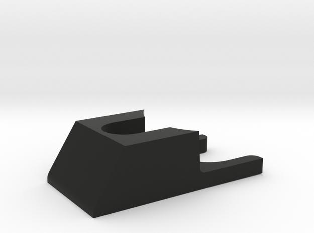 Micro Force Switch Guard in Black Natural Versatile Plastic