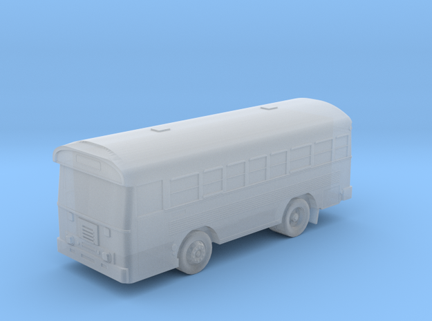 1:144 Scale  Bluebird 28 Passenger Aircrew Bus in Smooth Fine Detail Plastic