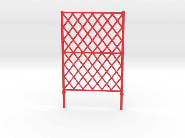 """Fence barrier for module """"LCpro"""" in Red Processed Versatile Plastic"""