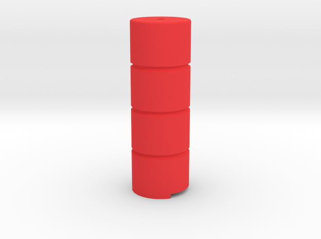 "Terminal module - Safety barrier ""LCpro"" in Red Processed Versatile Plastic"