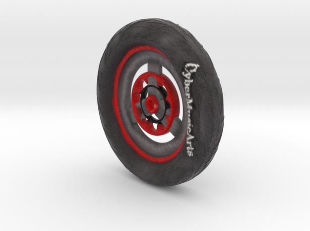 wheel in Full Color Sandstone