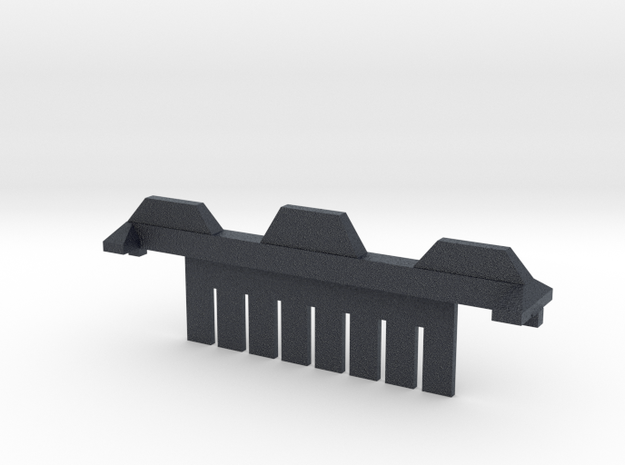 8 Tooth Electrophoresis Comb in Black Professional Plastic