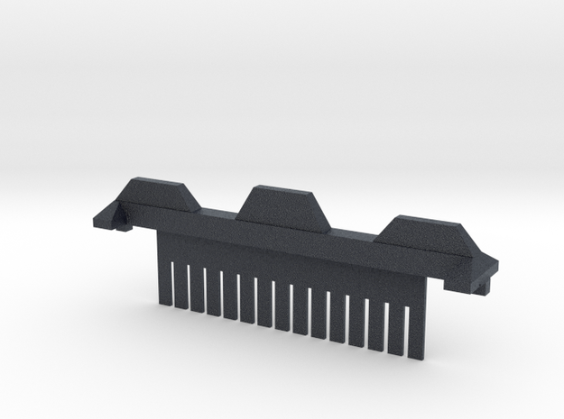 15 Tooth Electrophoresis Comb in Black Professional Plastic